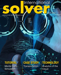 Solver International Magazine - Inaugural Issue Cover