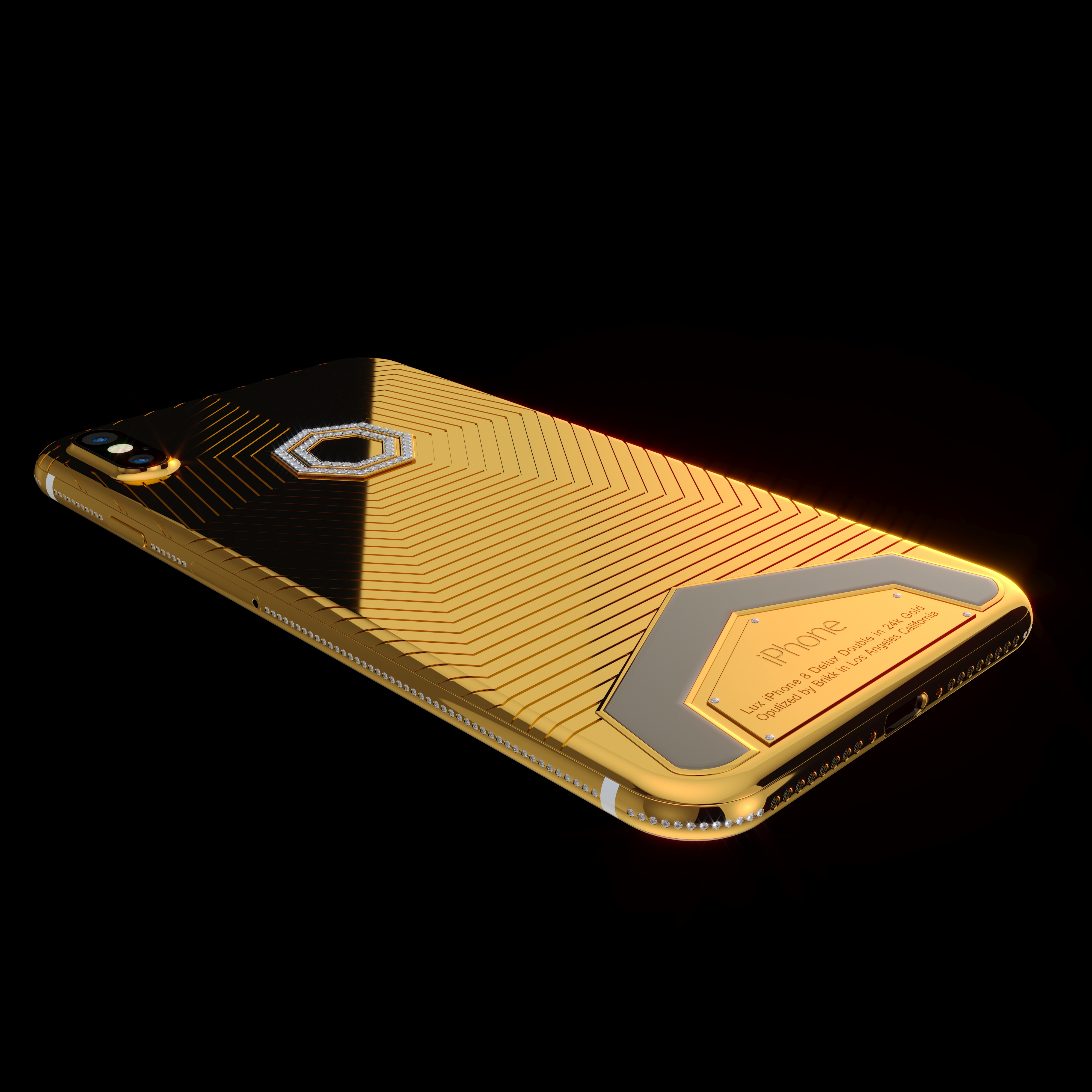 Brikk Launches Premium Version Of Iphone X In Gold And