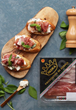 Celebrate the End of Summer with a Parma Ham, Ricotta and Basil Bruschetta Recipe