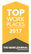 DecisivEdge™ Named a Delaware 2017 Top Workplace