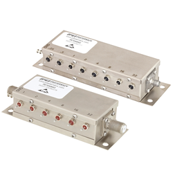 Relay Controlled Programmable Attenuators