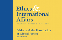 """Ethics & International Affairs"" Fall 2017 Issue Vol. 31.3"