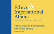 "Carnegie Council Presents the Fall Issue of its Journal ""Ethics & International Affairs,"" Featuring Amartya Sen and Many More"