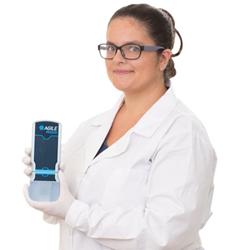 Agile R100 label-free biosensor Zika detection