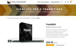 TranShift - Pixel Film Studios Transitions - FCPX Plugins