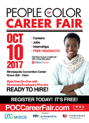 Fall 2017 - People Of Color Career Fair