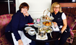 Dr. Freda Deskin and Debra Murray enjoying the city and culture in Stockholm, Sweden.