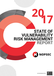 2017 State of Vulnerability Risk Management Report