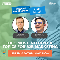 Podcast Series: The 5 Most Influential Topics for B2B Marketing