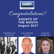 Outer Banks Real Estate Firm, Coldwell Banker Seaside Realty Announces John Leatherwood, The VanderMyde Group and Crystal Clark as Their Top Producers for August, 2017