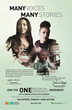 """Franchesca Ramsey, comedian, blogger, host MTV web's """"Decoded"""" and  Opal Tometi, co-founder #Black Lives Matter in BCS ONE Brooklyn Community """"Many Voices, Many Stories"""" campaign"""
