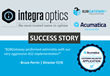 B2BGateway Completed a Customized Acumatica Integration Between Integra Optics and Their Trading Partner in One Week
