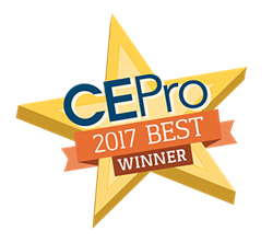 CEPro BEST Award Star for Sonesse® 30 WireFree (Li-ion) RTS