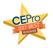 Somfy Wins CE Pro BEST Award for Sonesse® 30 WireFree (Li-ion) RTS Motor at CEDIA 2017
