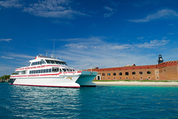 Yankee Freedom III at Fort Jefferson