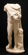 On offer at the Objects of Art LA,  from New York-based Art For Eternity, a Roman Marble Figure of Bacchus, circa 1st to 2nd century AD.