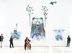 The spacious, high-ceilinged galleries in the Anchorage Museum's new wing, designed to accommodate both art and people, deliver a compelling narrative for the North.