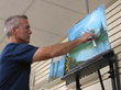 "Cincinnati Artist and Teacher Kevin Miller Launches TV Series ""Painting With Kevin"" on Waycross Community Media"