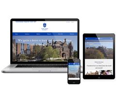 Saint Louis University's award-winning website
