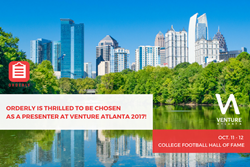 Orderly is thrilled to be chosen as a presenter at Venture Atlanta 2017.
