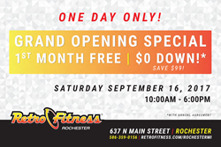 Retro Fitness of Rochester Celebrates Grand Opening