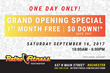 Retro Fitness of Rochester Celebrates Grand Opening September 16, 2017