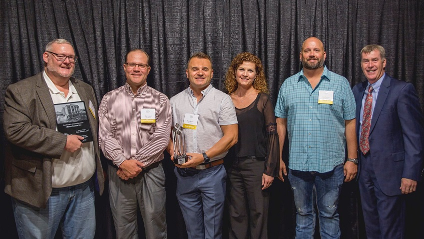 Titan interiors receives 2017 excellence in construction - Home and garden show 2017 grand rapids ...