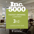 Treeium Inc. Marks High in the INC 5000 for the Third Consecutive Year in a Row