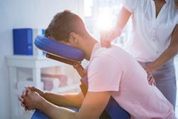 Patient receiving Chiroproactic Care