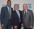 Michael Strahan, Steve Barry, and Tom Coughlin at the Tom Coughlin Jay Fund Foundation's annual Champions for Children Gala in NYC.