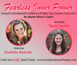 "Inspirational Speaker and Sedona Healer Anahata Ananda Shares ""7 Tips for Activating Personal Power"" for Fearless Inner Power Global Telesummit"