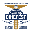 Ray Price Capital City Bikefest in Raleigh, N.C.