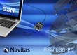 Navitas GaN Power ICs Enable World's Smallest 65W USB-PD Laptop Adapter