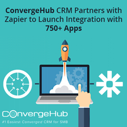 ConvergeHub Partners with Zapier
