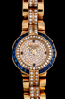 Patek Philippe 18K Diamond and Sapphire Set Ladies Watch, estimated at $21,000-26,000.
