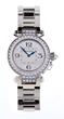 18K White Gold Pasha De Cartier Ladies Diamond Set Watch, estimated at $15,000-20,000.