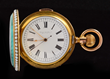 18K Levy H. Enamel Cased Minute Repeater Pocket Watch, estimated at $15,000-25,000.