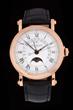 Patek Philippe 18K Perpetual Retrograde Men's Watch, estimated at $35,000-45,000.