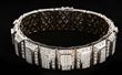 18K White Gold and Diamond Bracelet, estimated at $15,000-25,000.
