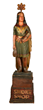 Wm. Demuth Cigar Store Indian Maiden Statue, estimated at $25,000-35,000.