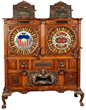 5¢-25¢ Mills Double Dewey Two Bits Slot Machine, estimated at $60,000-90,000.