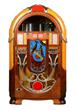Wurlitzer Peacock Model 850 Phonograph Jukebox, estimated at $15,000-18,000.
