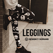 Stop Your Begging Already; Design By Humans is Ready to Introduce the All Over Legging Collection