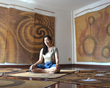 World's First Yoga Mat Gallery Comes Over to NYC to Hold an Exhibition
