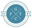 Blue Global Food Tourism Conference logo with words Network, Learn, Savor and Celebrate