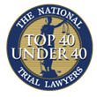 National Trial Lawyers Top 40 Under 40 logo