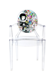 tokidoki x Kartell - Louis Ghost Chair