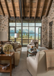 "JLF Architects, Big-D Signature construction and WRJ Design interiors won a Mountain Living magazine Home of the Year award for this Jackson Hole home from the new book's ""Rustic Modern Refined"" chapt"
