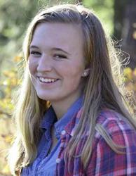 IEI scholarship winner Kaylee Martin