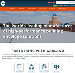 The Garland Company launches a re-tooled website